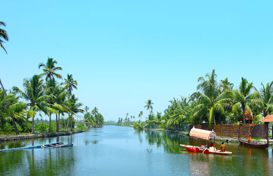 Kerala backwater houjseboat honeymoon trip