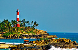 Kerala Beach & Backwater  Honeymoon Tour Package