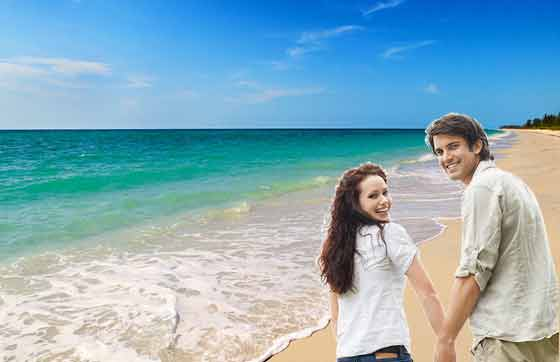Honeymoon in kovalam beach